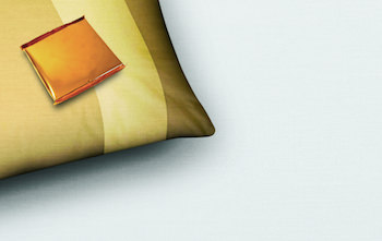 A_Piece_of_Chocolate_on_a_Pillow