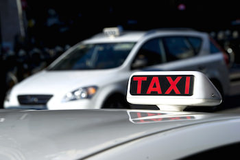 A_Taxi_Cab_in_Traffic