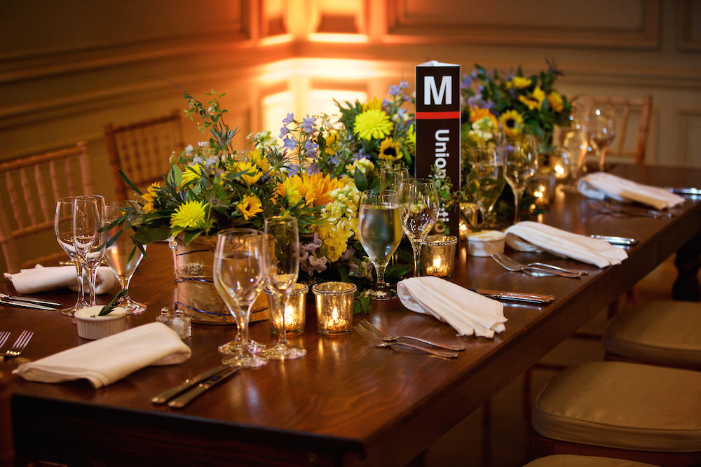 Washington DC Wedding Farm Table at the Meridian House. Howerton+Wooten Events.
