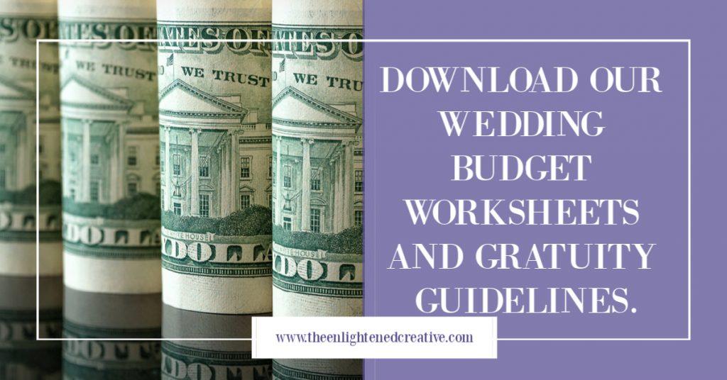 wedding plan budget worksheet