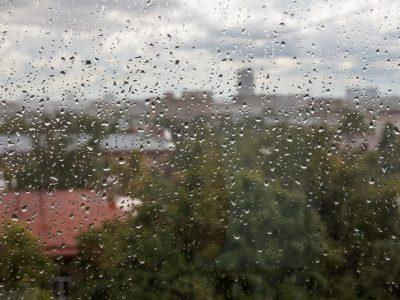 Rainy Window. Howerton+Wooten Events