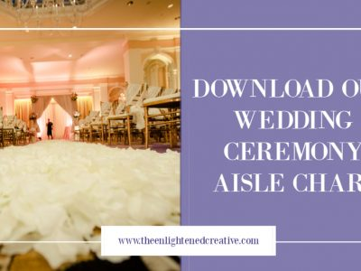 Product Love: A Wedding Aisle Runner With Style!