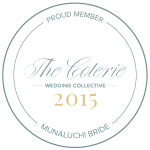 A Proud Member of the MunaLuchi Coterie 2015. Howerton+Wooten Events.