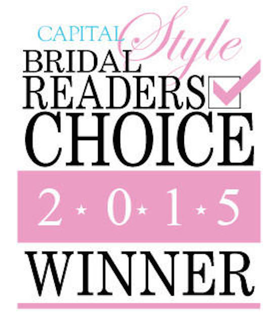 Capital Style Bridal Readers Choice Winner 2015. Howerton+Wooten Events.