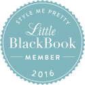 Style Me Pretty Little Black Book Member 2016. Howerton+Wooten Events.