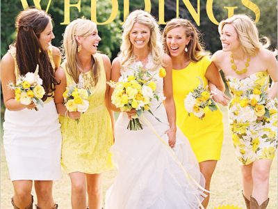 Spotted in Southern Weddings Magazine