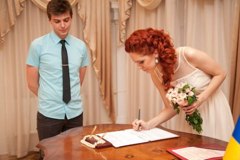 A_Bride_Signing_A_Contract