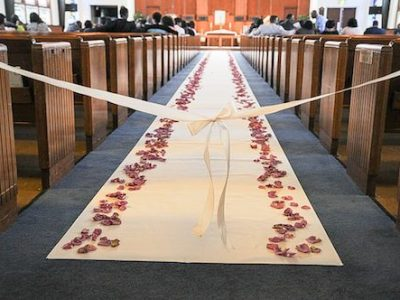 How Long Does the Aisle Runner Need To Be for My Wedding?