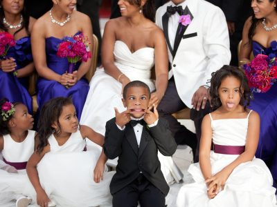 What's wrong with inviting children to your wedding?