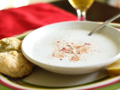 Maryland Crab Lump Bisque -- Perfect for a Snowy Lunch