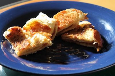 Mini Grilled Cheese and Jam Sandwich Recipe