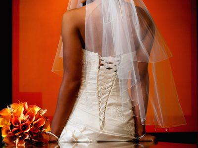 How to Sit Down in a Wedding Gown