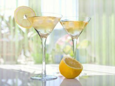 Signature Drink: Limoncello Martini