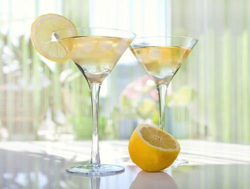 how to make a limoncello martini