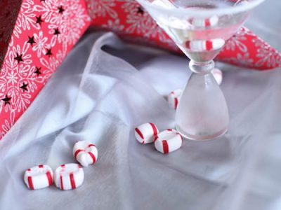 A Candy Cane Martini Recipe for a Holiday Cocktail Party