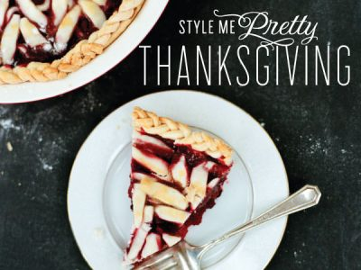 Style Me Pretty's Thanksgiving E-Guide