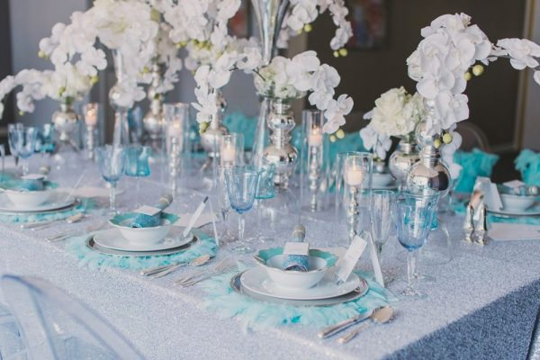 Table Linen Sizing Chart. Howerton+Wooten Events.