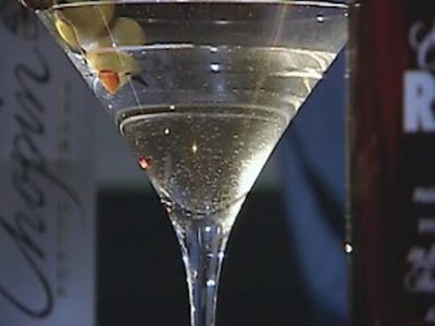 Friday Happy Hour: Dirty Martini for the Father of the Bride