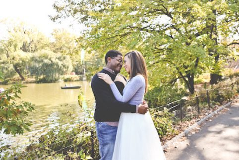 AfricanAmerican_Bride_Groom_Central_Park