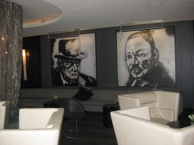 Art and Soul Restaurant Hotel Lobby. Howerton+Wooten Events.