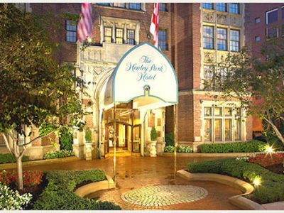 Venue Love: Henley Park Hotel in Washington DC
