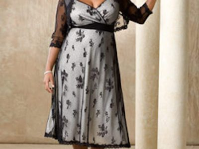 I love this dress! A rehearsal dinner dress made for real women!