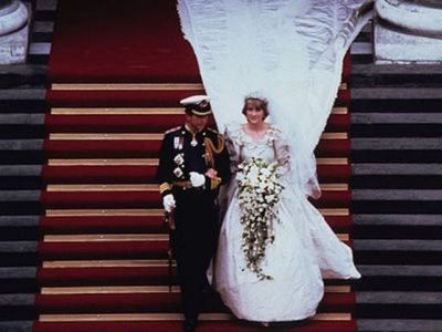 Fun Fact: Princess Diana's Wedding Gown Security