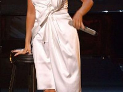 I Love This Dress: Christina Aguilera's White Satin Dress