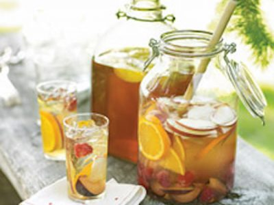 Friday Happy Hour: Summer-Fruit Sangria