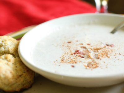 {Reprise} Maryland Crab Bisque is a Perfect Lunch on a Chilly Day