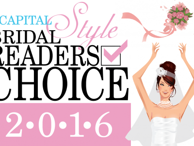 2016 Capital Style Bridal Readers Choice Finalist!