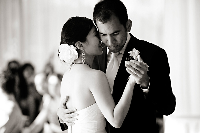 Asian Bride and Groom First Dance Wedding. Howerton+Wooten Events