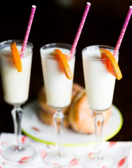 Dreamsicle Mimosa Smoothie. Howerton+Wooten Events