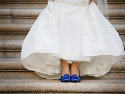 Bride in Blue Shoes. Howerton+Wooten Events.