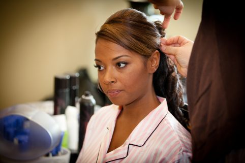 African American Bride Hair Care. Howerton+Wooten Events.