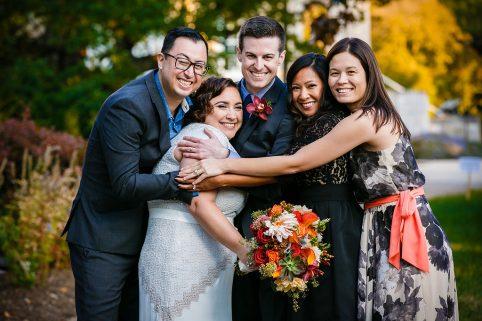 Happy Wedding Guests. Howerton+Wooten Events.