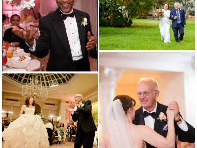 Father of the Brides Collage. Howerton+Wooten Events.