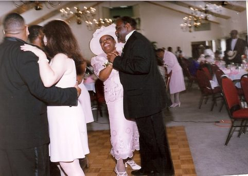 Fat Daddy Dancing with Loretta. Howerton+Wooten Events.