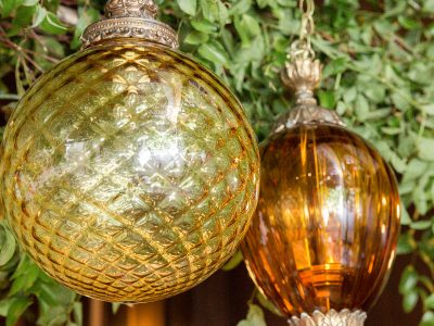 Gold and Amber Moroccan Lanterns