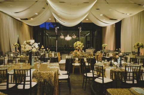 Wedding Reception at Cylburn Arboretum. Howerton+Wooten Events.