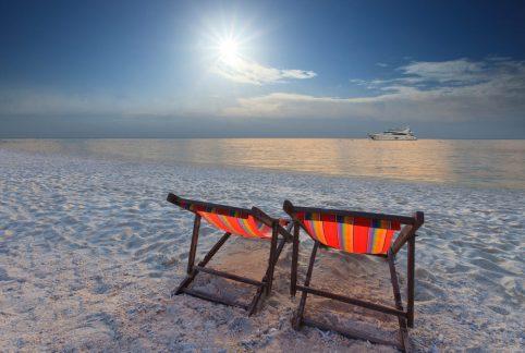 Beach Chairs on a Honeymoon. Howerton+Wooten Events.