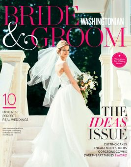 Washingtonian Bride & Groom Magazine Winter 2016. Howerton+Wooten Events.