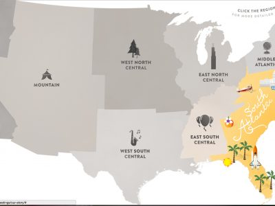 Conference and Meeting Planning Map. Howerton+Wooten Events.