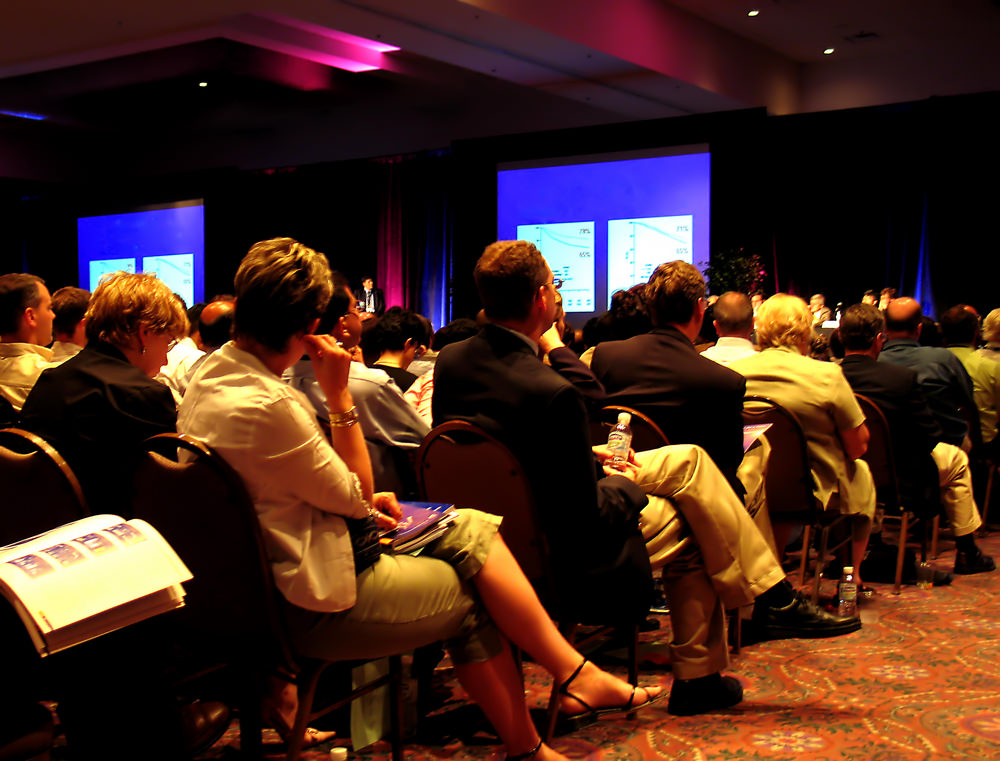 Conference Attendees. Howerton+Wooten Events.