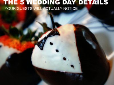 5 WEDDING DAY DETAILS YOUR GUESTS WILL NOTICE. HOWERTON+WOOTEN EVENTS.