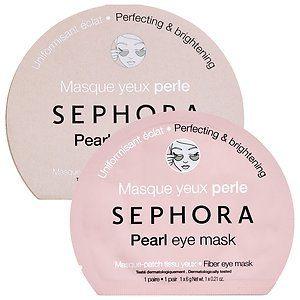Sephora Pearl Eye Mask. Howerton+Wooten Events.