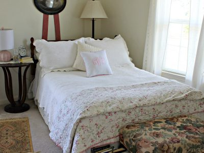 Guest Bedroom. Howerton+Wooten Events.