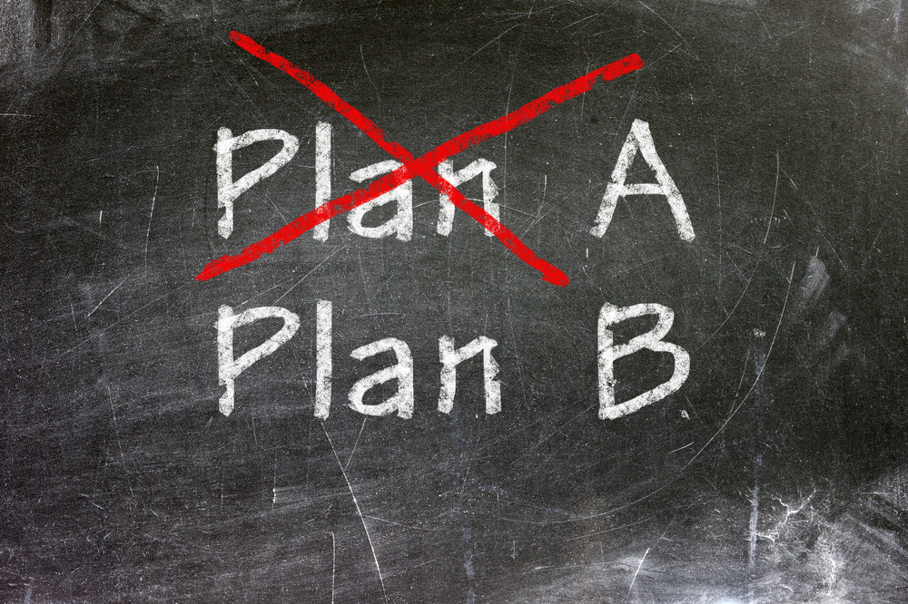 How to Determine a Plan B for Your Wedding