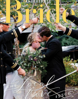 Baltimore Bride Magazine Local Love Issue. Howerton+Wooten Events.