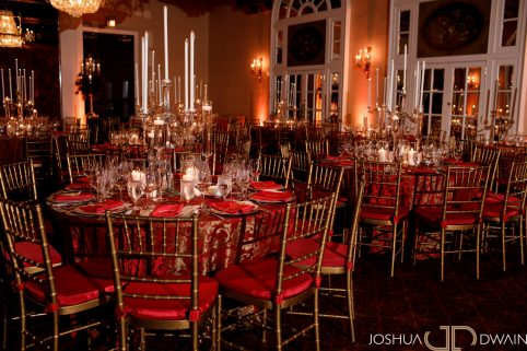 Luxurious Red Rose Wedding. Howerton+Wooten Events.